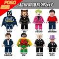 PG8009 DC Comics 8 unids/lote Super Heroes Batman Classic Series TV-Batmancave Catwoman/Alfred Niños Juguete Lpin