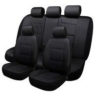 LCRTDS кожаный чехол для автомобильного сиденья для mitsubishi pajero 4 2 sport outlander xl asx аксессуары lancer для автомобильного сиденья