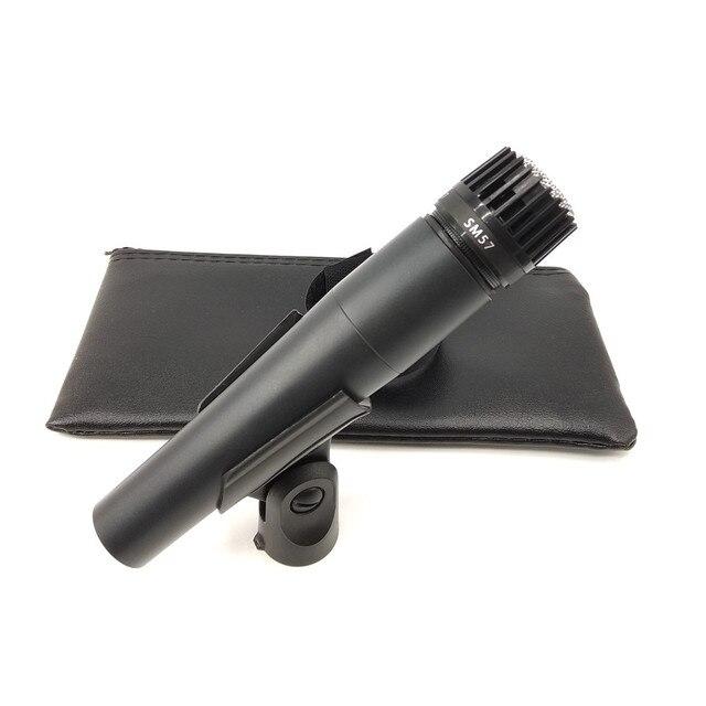 Pesante Tubo di 5 Anno di Garanzia di Qualità Sm 57 Microfono Dinamico Cardioide Vocal Wired SM57 di Registrazione Mic Microfone Fio Microfono