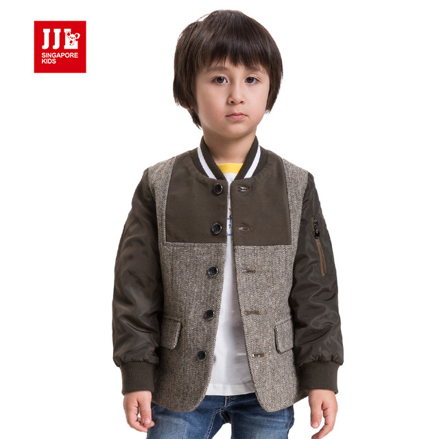 boys dress coat winter kids jacket boys coats children outwear 2015 boys baseball coat new arrival
