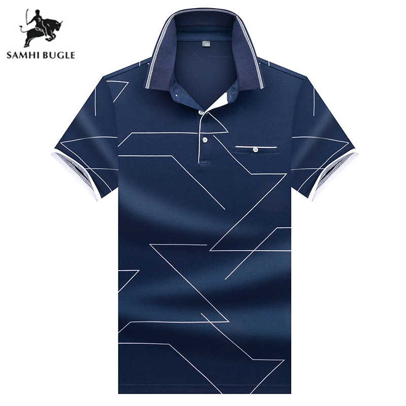 Mens Clothing 2019 Summer fashion short sleeves   polo   shirt men Business gentleman   polo   homme de marque haute qualite