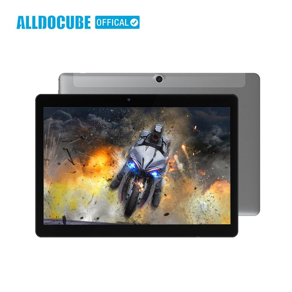 ALLDOCUBE 9.6 pouce Ultra-mince 1280*800 IPS Vue Plein Android 7.1 4g Appel Téléphonique Tablet PC MTK6737 Quad Core 2 gb 32 gb Cube Phablet
