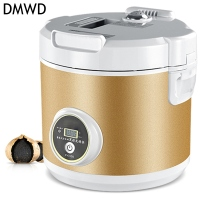 DMWD black garlic machine ferment zymolysis zymosis garlic household appliances for the kitchen food processor tools Automatic