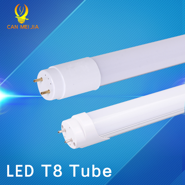 CANMEIJIA Led Tube Light T8 600mm High Power 60cm Led Tube Light Lamp 2ft Tube T8 Home Lighting 9W 10W 220V indoor Decoration
