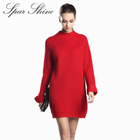 SPARSHINE 2017 Brand New Sweaters Solid Loose 6 Colors Pullover Sweater Woman Casual Knitted Warm Long