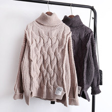 sweter swetry Zima luźne