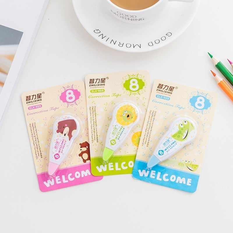 1 יחידות חדש יפה קריקטורה בעלי חיים סרט תיקון קוריאני מתוק מכתבים חידוש משרד ילדים ספר