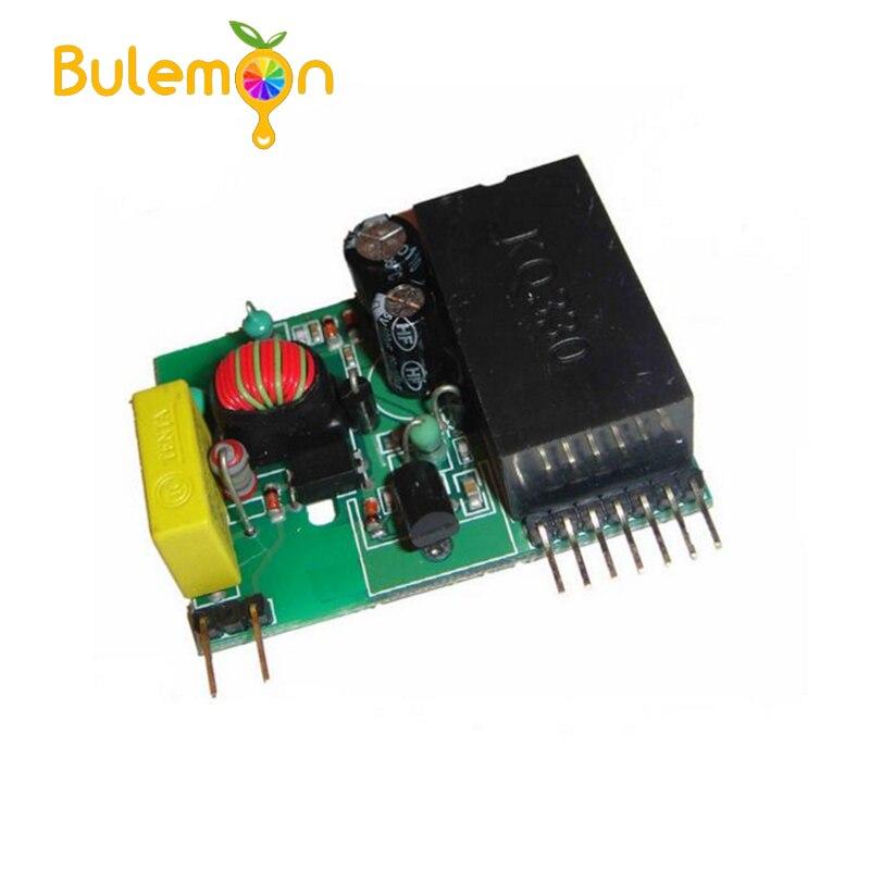 Módulo portador de línea de alimentación KQ-130F sin componentes externos Módulo SFP RJ45 interruptor gbic 10/100/1000 conector SFP cobre módulo RJ45 SFP puerto Gigabit Ethernet