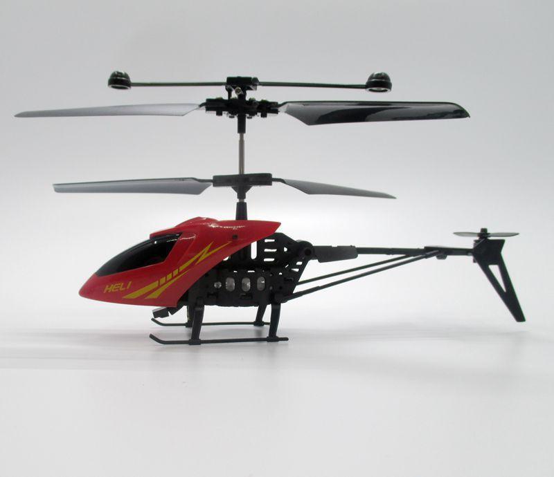ヘリコプター黄赤ランダム Quadcopter 2.5CH にくいラジオリモートコントロール航空機