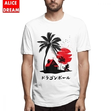 For Male Kame Island Tee Picture Custom T-Shirt O-neck BONADIAO T-shirt Dragon ball t shirt цена и фото