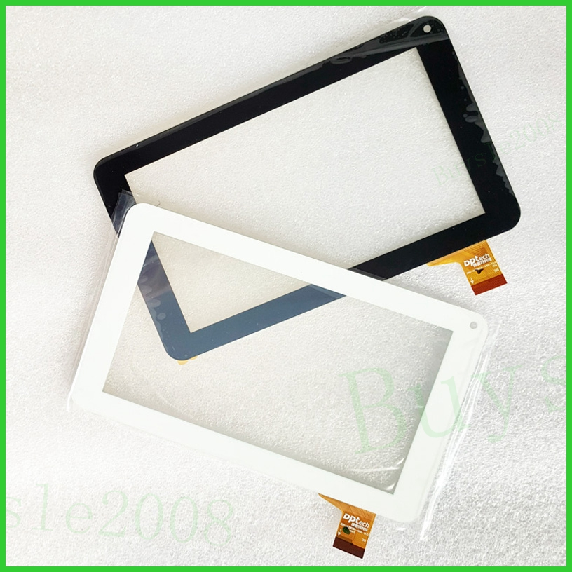 New capacitive touch screen panel Digitizer Glass Sensor 7 inch for YCG-C7.0-0086A-FPC-02 DL PIS-T71PIN L338 Tablet PC 7 inch fpc tp070341 fpc tpo034 glass for talk 7x u51gt touch screen capacitance panel handwritten noting size and color