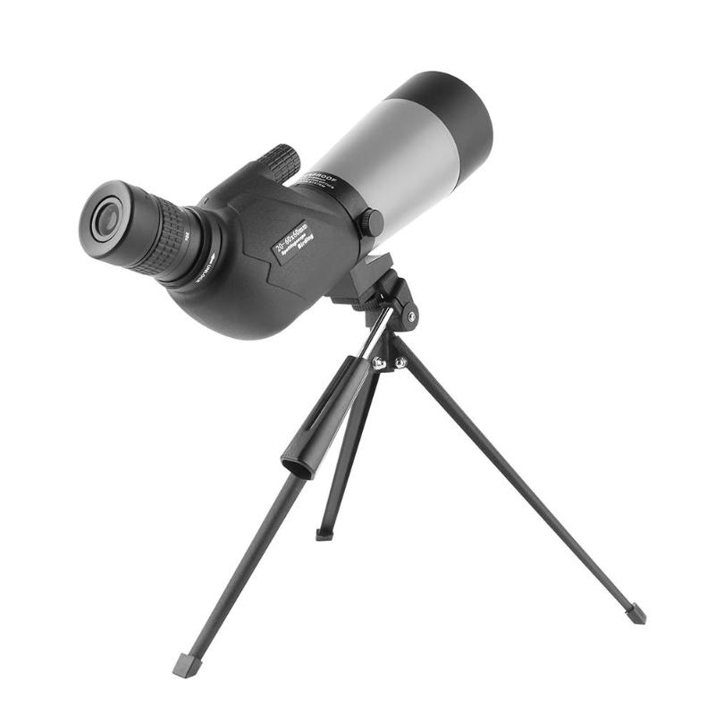 20-60X60 Zoom Spotting Scope with Tripod for Birdwatching Waterproof Long Range Target Shooting Monocular Telescope стоимость