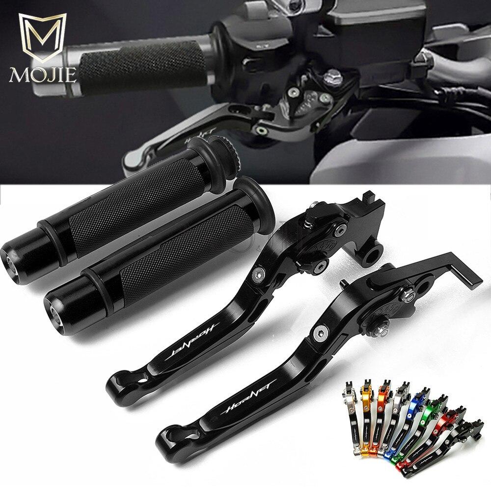 Moto CNC réglable frein embrayage levier poignée poignées pour Honda CB599 CB600 HORHET CB500F CB 599 600 500 F 1998-2006