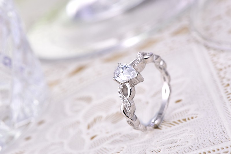 couple rings for women,925 sterling silver ring,diamond ring,for 925 silver engagement ring,for wedding ring silver 925,for silver ring women DL47620A (2)