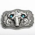 Ovelhas Fivela de Luxo Designer Cintos Homens de Alta Qualidade Do Punk Rock Hip Hop Masculino Correia de Liga de Zinco Anéis, só a Fivela