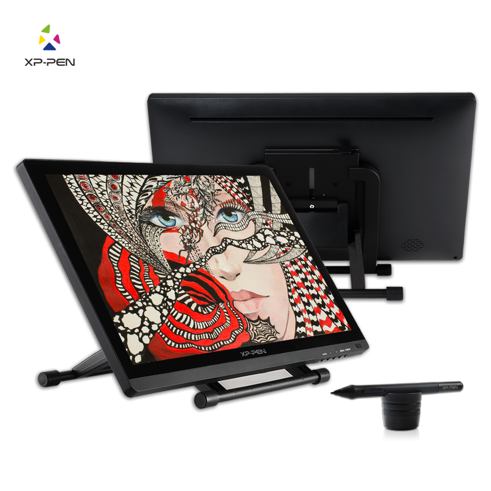 XP-Pen 21.5 HD IPS Graphic Tablet Interactive Monitor Full View Angle Extended Mode Display for Apple Macbook supporting HDMI ugee ug2150 21 5 inch graphic drawing monitor stylus pen display graphic tablet with screen ips panel for macbook imac windows