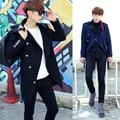 2016 novo casaco de inverno homem Metrosexual Coreano cultivando no casaco de lã longo F46 P125