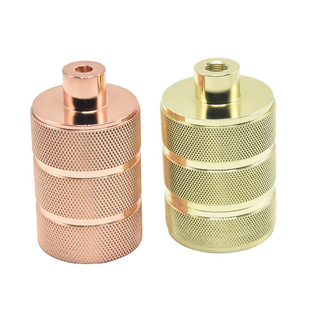 E27 Aluminum Socket CE Lamp Bases Loft Screw Edison Bulb Socket Bakelite Inner Core Vintage Chandelier E27 Lamp Holder 1PC
