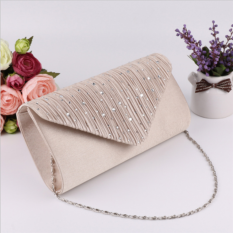 Women Evening Shoulder Bag Party Prom Wedding Lady Clutch Envelope Handbag Gift