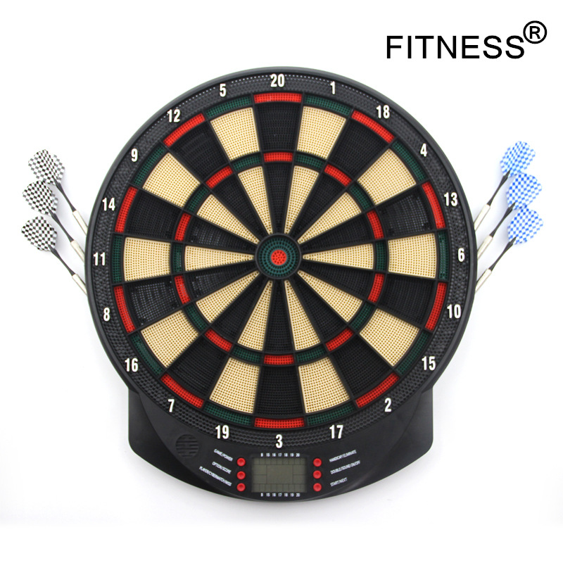 New Indoor Sport Double Target Dart Magnetic Flocking Dartboard Board Double Thickening For Wholesale And Freeshipping