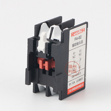 Auxiliary contact switch F4-02, 2NO/2NC two sets of contacts CJX2 AC contactor стоимость