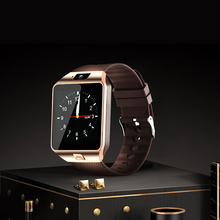 Smart Watch DZ09 2018 Black Gold Smartwatch Pedometer For Bluetooth Connectivity Android Phone Men PK Q18