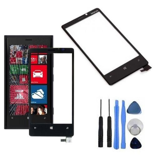 Черный сенсорный экран замена панель ассамблея дигитайзер ( не включить жк-дисплей ) для Nokia Lumia 920 с бесплатным ремонт инструментов