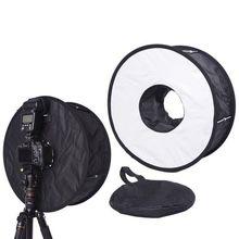 """18 """"Easy veces Anillo Flash Speedlite Softbox Difusor Reflector de Luz de Flash"""