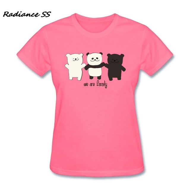 Womens Cool T shirt Newest Cheap Price We are Family Tee Shirts ...