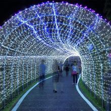 10 м Медный Провод Лампа Кабинета Книжный Шкаф Украшения Светодиодные Гибкие Лампы Шнура Рождество