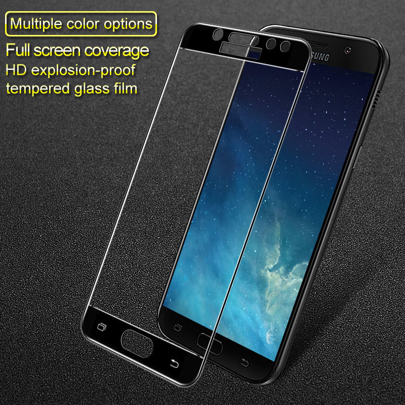 9H 2.5D Full Cover Tempered Glass For Samsung Galaxy J5 2017 SM-J530F/DS J530 J5 Pro J530FM Dual Sim Imak Screen Protector Film