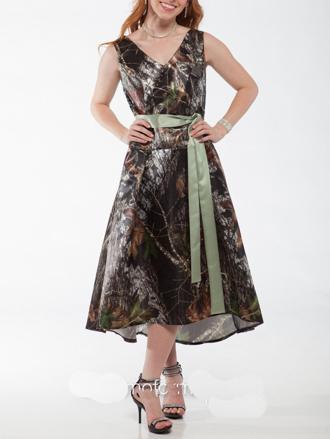 Popular Camo Bridesmaid Dresses Buy Cheap Camo Bridesmaid