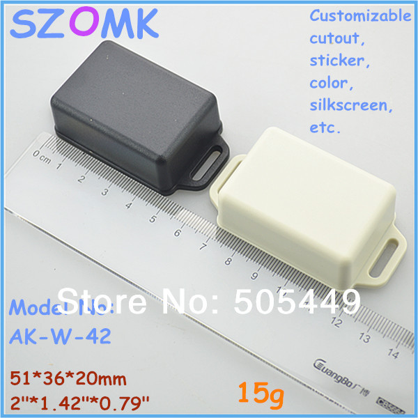 1 piece  distribution box  electric box   51*36*20 mm 2*1.42*0.79 inch plastic case electronics distribution