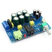 TPA6120 усилитель для наушников плата TPA6120A2 hifi с нулевым уровнем шума плата DIY/Готовая