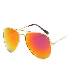 Women Men Sunglasses Fashion New Cat Eye Rose Gold Mirror Sun Glasses Unique Flat Ladies Oculos