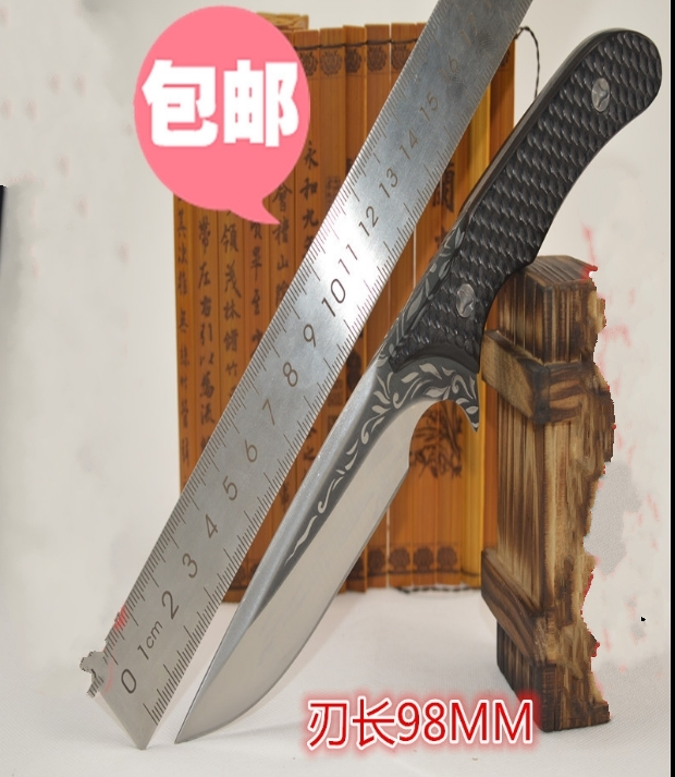ФОТО 2016 hot High hardness straight knife with wild despair survival knife self-defense tool outdoor knife