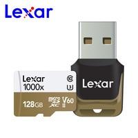 Original Lexar 1000x Micro SD 128GB Memory Card 16GB 32GB UHS II U3 SDHC SDXC 64GB Max speed 150MB/s Class10 tf Memory Card