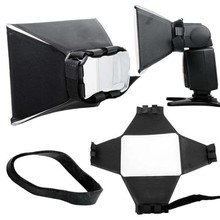 New Camera & Photo Professinal Foldable Flash Diffuser Softbox for Canon Nikon Sony Pentax Wholesale