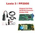 2016 Последним lexia с Diagbox V7.83 FW 921815C и Orignal полный Чип Полной Функции Lexia3 Lexia 3 V48 PP2000 V25 Lexia-3