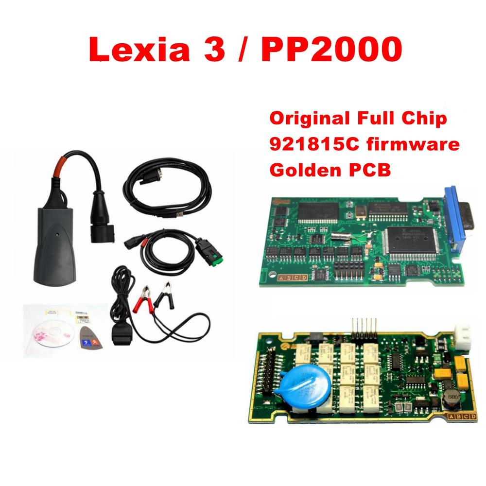Prix pour Date lexia Plein Puce Lexia3 PP2000 avec Diagbox V7.83 FW 921815C et Orignal Lexia 3 V48 V25 Lexia-3 de diagnostic-outil