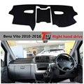 Крышка приборной панели автомобиля TAIJS для Benz Vito 2010-2016 Анти-растрескивание Авто приборной панели коврик для Mercedes-benz VITO правый Привод