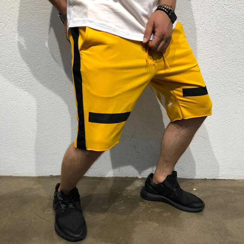 Fashion mens casual shorts 2019 street clothing brand Sweatpants jogger fitness
