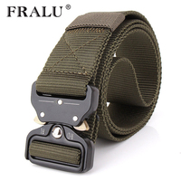 FRALU Military Equipment Knock Off Army Belt Men S Heavy Duty US Soldier Combat Tactical Belts