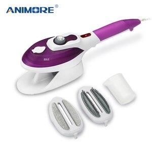 Image 1 - Отпариватель для одежды ANIMORE, бытовая техника, вертикальный отпариватель с паровыми щетками, утюг для глажки одежды для дома 110 220 В