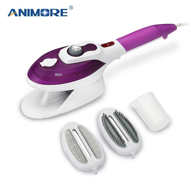 Отпариватель для одежды ANIMORE, бытовая техника, вертикальный отпариватель с паровыми щетками, утюг для глажки одежды для дома 110 220 В