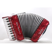 8 Bass 22 Button Piano Accordion for Children Red Blue Green Accordion instrument Musical instruments