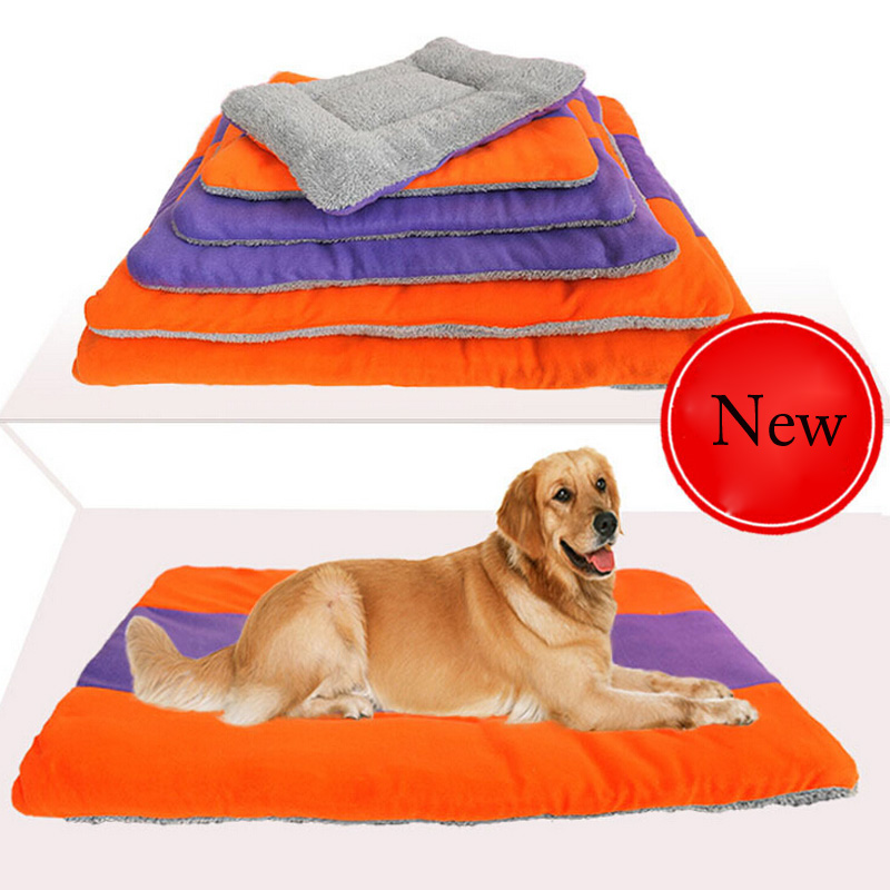 6 Size Bed For Small Medium Large Dogs Soft Pet Dog Bed Mats PP Cotton Pet Beds For Large Pets