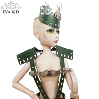 22 56cm BJD Robot Model Ex Ma china Full Set 1/3 SD Doll jointed dolls + Makeup Toy Full Set Metal Hand 3D Clothing Gift