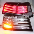 For  LEXUS  LX570 LED Tail Lamp  Rear light  Back Light  2012-2014 Year Black Housing Clear Cover