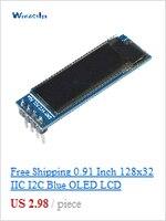 """0, 28 """"синий + красный двойной светодиодный дисплей мини цифровой вольтметр амперметр постоянного тока 100 в 10А панель усилителя вольт ток метр тестер с линии горячий"""